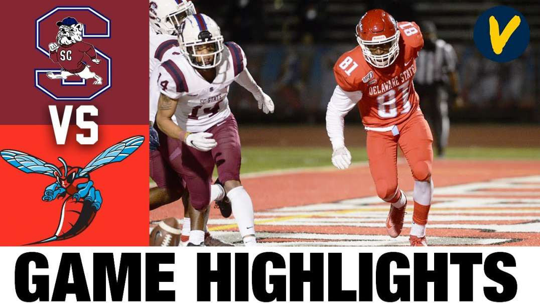 SC State vs Delaware State Highlights _ FCS 2021 Spring College Football Highlights